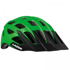 Kask Lazer Roller zielony flash